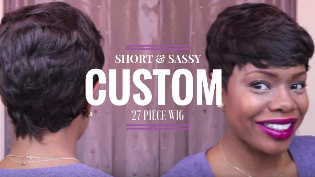 Short and sassy custom 27 piece wig the maria antoinette short and sassy custom 27 piece wig urmus Gallery