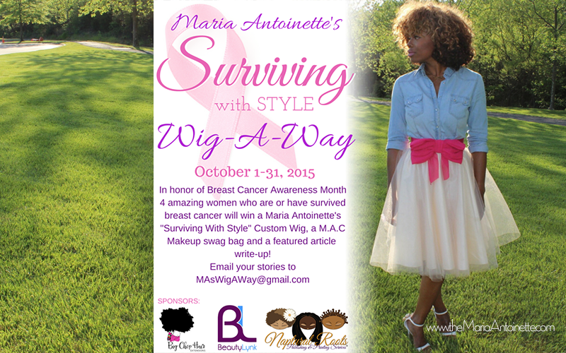 Maria Antoinette's Surviving with Style Wig-A-Way