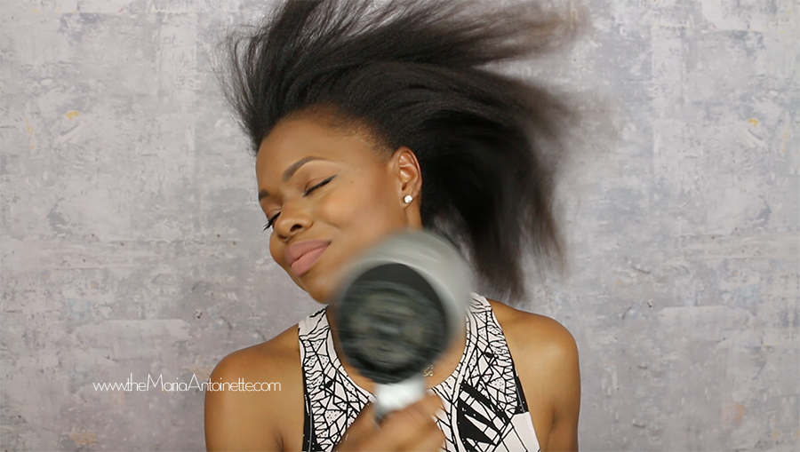How To Blow Out Your Natural Hair