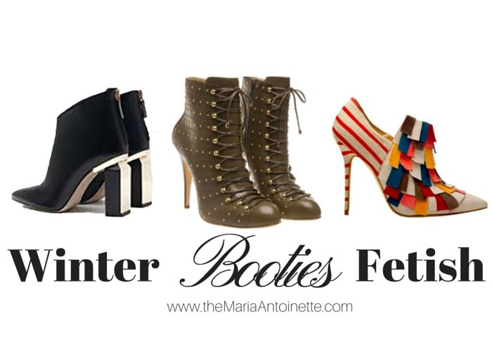 Winter Booties Fetish