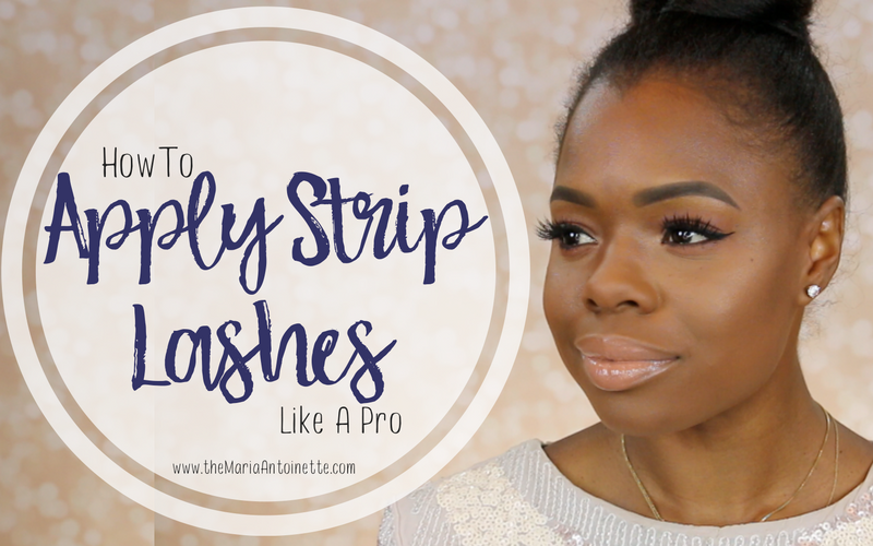 How to Apply Strip Lashes like a Pro