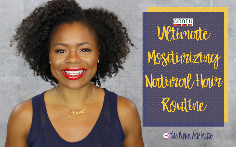 Ultimate Mositurizing Natural Hair Routine