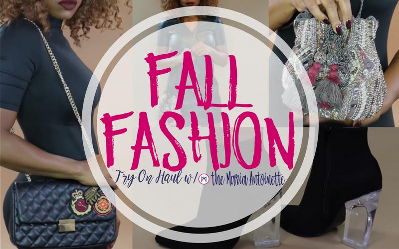 Fall Fashion Haul