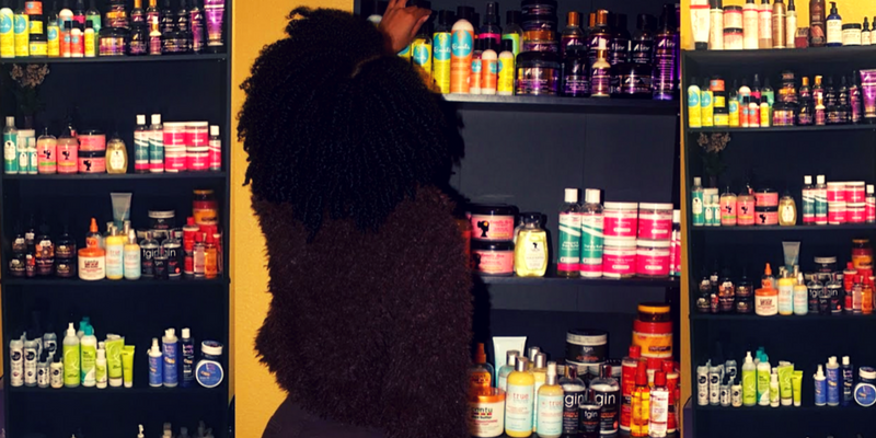 The Best Way to Manage Being a Natural Hair Product Junkie