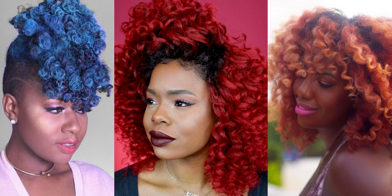 "10 Times Black Women Didn't ""Play by the Rules"" and Rocked Bold Color Hair"