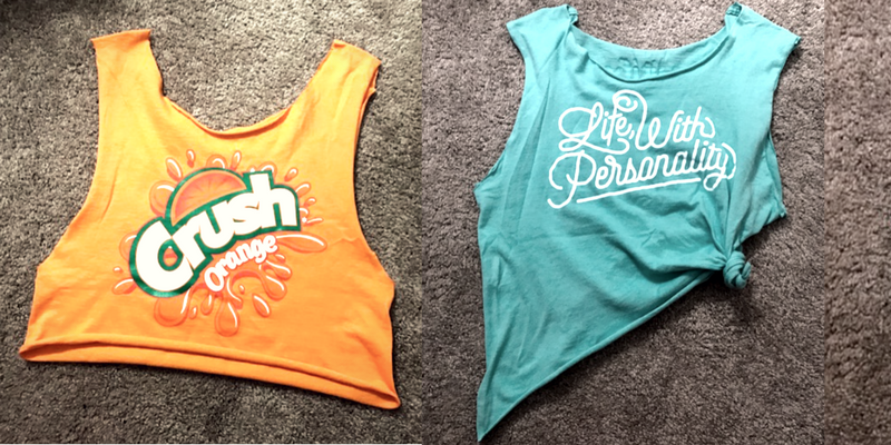 How To Transform An Old T-Shirt Into a Swagged Out New Gym Shirt