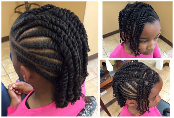 Five Simple Ways To Style Your Child S Twists For Back To