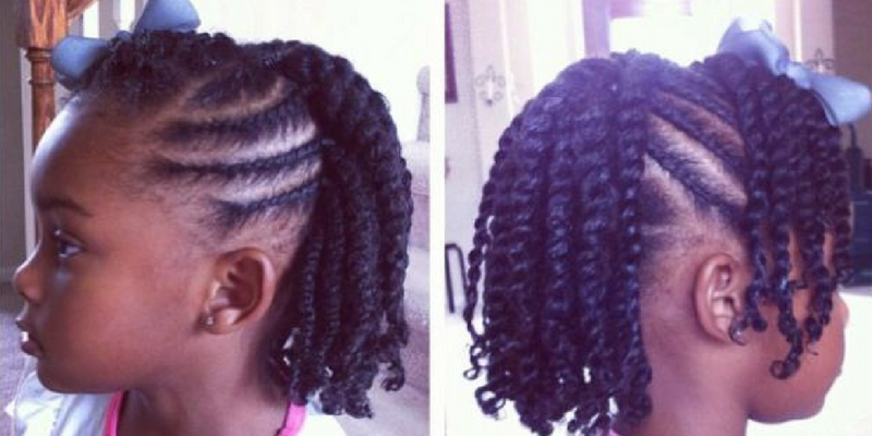 Five Simple Ways To Style Your Child's Twists