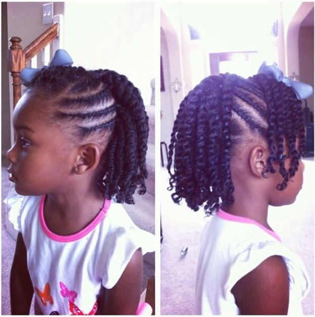 Five Simple Ways To Style Your Child S Twists For Back To School