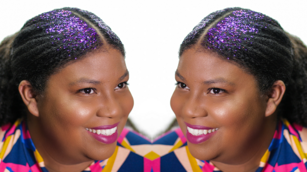 Give Your Hair Sparkle With This D.I.Y Glitter Gel & Hair Styling Tutorial