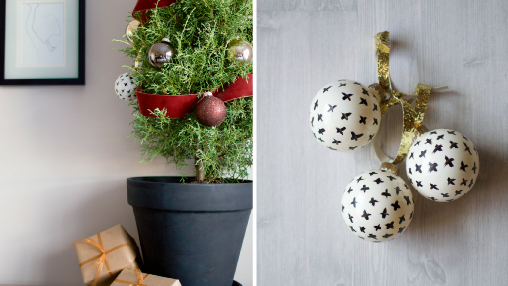 Creating Your Own Chic Christmas Ornaments