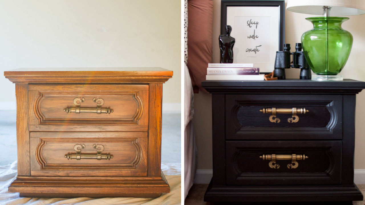 Bring An Old Nightstand Back To Life With This D I Y Nightstand Makeover
