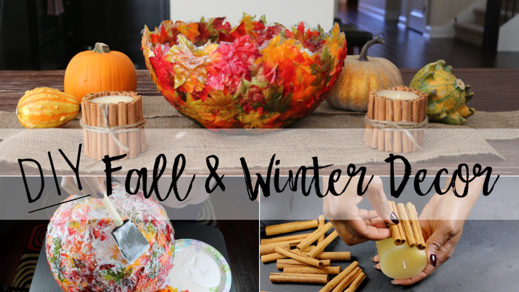 Get Cozy This Fall And Winter With These Diy Decor Craft Ideas