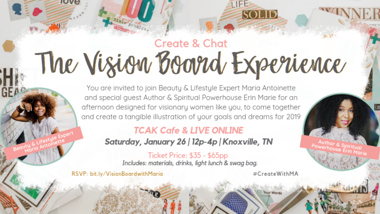 """""""Manifesting Your Visions"""" Vision Board Party - Visit ... 